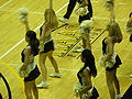 Cal Dance Team at women's volleyball, USC at Cal 11-22-08 3.JPG