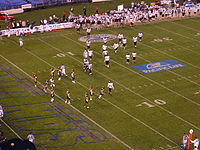 Cal on defense at 2004 Holiday Bowl.JPG