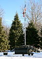 Cambridge Iowa 20090208 Memorial w Flag.JPG
