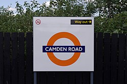 Camden Road railway station MMB 08.jpg