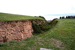 Foso de la muralla defensiva