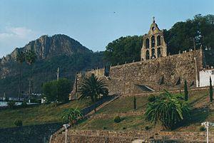 Molango - Image: Campanario de Ex Convento de Nuestra Señora de Loreto