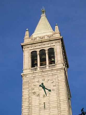 Sather Tower - Image: Campanile bells