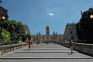 Campidoglio: La cordonata capitolina - Roma, I...