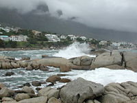 Camps Bay, 10 minutes drive from the CTICC