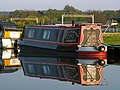Canal boats at Milford Wharf, Staffs and Worcs Canal, Staffordshire. - geograph.org.uk - 1279743.jpg