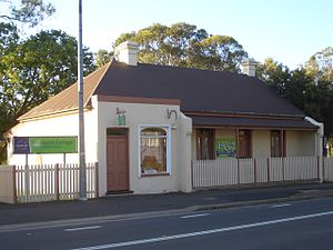 Canley Vale, New South Wales - Westacott Cottage, Railway Parade