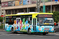 Capital Bus 315-FS on Zhongxiao East Road 20100322.jpg