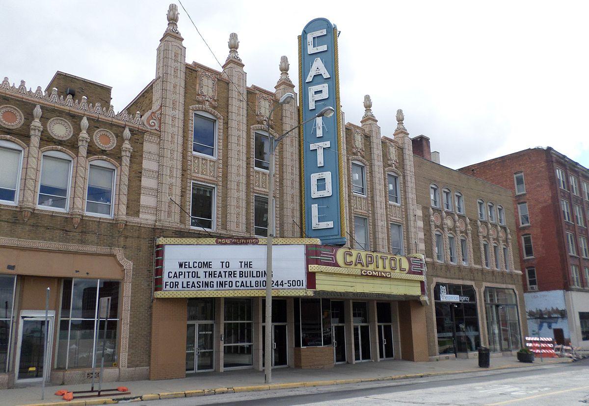 Capitol Theatre Building (Flint, Michigan) - Wikipedia
