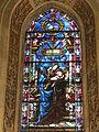 Cappella di filippo strozzi, vetrata 03.JPG