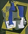 Carafe, verre et journal by Juan Gris, 1919.jpg