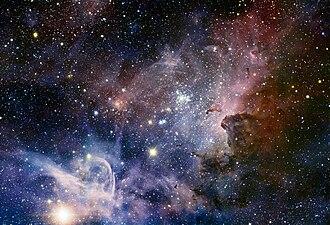 Stellar kinematics - Carina OB1, a large OB association.