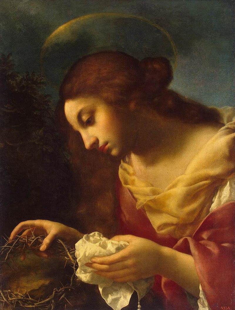 Карло Дольчи - Святая Мария Магдалина - WGA6377.jpg