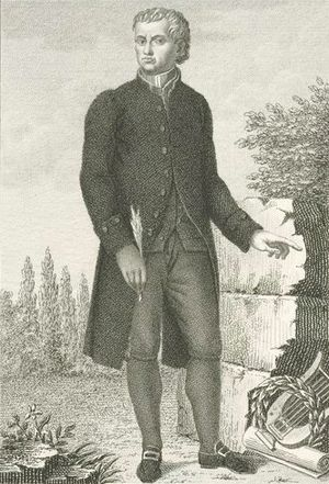 Carlo Innocenzo Frugoni - Carlo Innocenzo Frugoni on a stipple engraving by Luigi Rados.