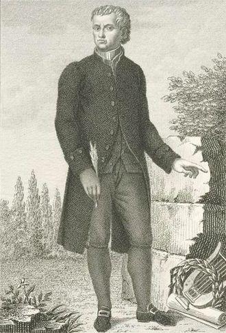 Carlo Innocenzo Frugoni - Carlo Innocenzo Frugoni on a stipple engraving by Luigi Rados.