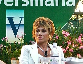 Carmen Russo - Russo at the Versiliana Festival in 2008.