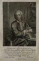 Carolus Linnaeus. Etching by J. M. Bernigeroth, 1749. Wellcome V0003591EL.jpg
