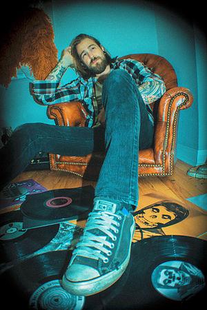 Carson Allen - Self-portrait photograph