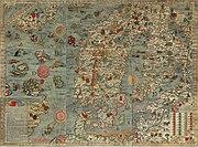 Carta marina der Ostsee, 1539