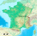 Carte de France localisation d'Evian-les-bains.png