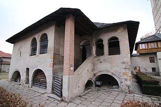 Neacșu's letter - Boyar house in Câmpulung