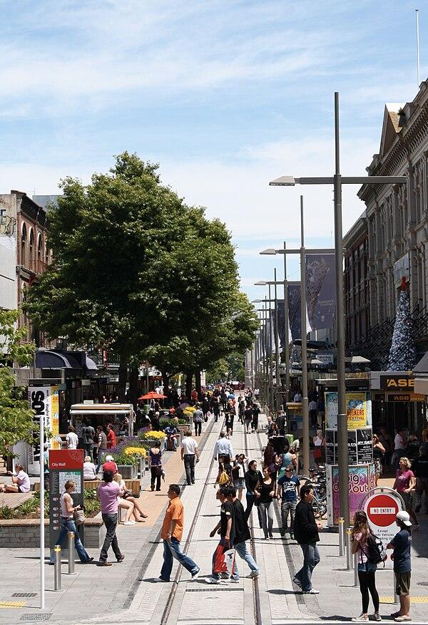 City Mall, Christchurch