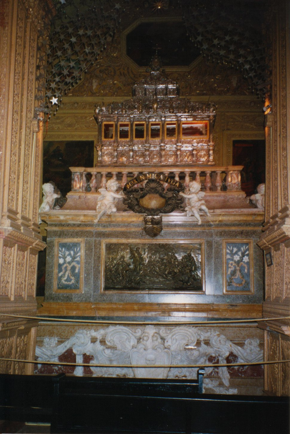 Casket of Saint Francis Xavier