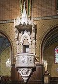 Castelnau-d'Estrétefonds Eglise - chaire à prêcher, de style néo-gothique IM31000104.jpg