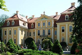 Rammenau - Image: Castle Rammenau Germany 100