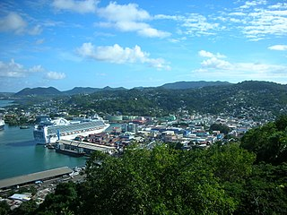Quarter in St. Lucia