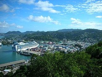 Castries - Image: Castries St Lucia