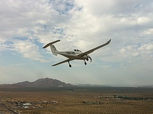 Scaled Composites Catbird - Second first flight July 7, 2011