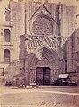 Catedral de València, Porta dels Apòstols, Laurent c. 1870.jpg