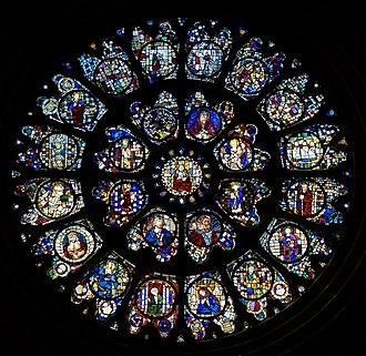 Toulouse Cathedral - Image: Cathédrale Saint Étienne,Toulouse Rosace