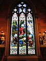 Cathedral of the Immaculate Conception (Albany, New York) - interior, stained glass, The Agony in the Garden.jpg