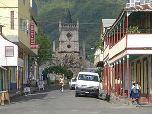 Soufrière, Saint Lucia - Image: Catholic Church Soufriere Saint Lucia