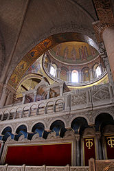 Catholicon dome, Holy Sepulchre 2010 3.jpg