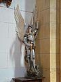 Cause-de-Clérans église Cause statue St Michel.JPG