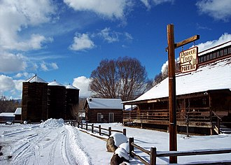 Delta County, Colorado - Pioneer Town in Cedaredge, 2008