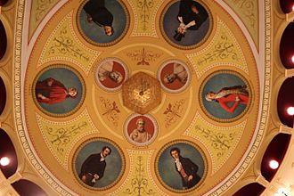 Apollon Theater, Syros - The ceiling