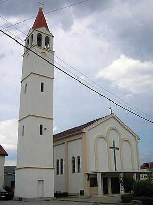 Čeljevo - Image: Celjevo crkva