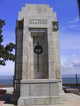 Penang - The Cenotaph in George Town, erected after World War I, commemorates fallen Allied soldiers.