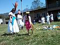 Ceremonia azteca de bienvenida a la primavera en Ayahualulco, Veracruz, México. 24.jpg