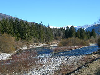 Chéran river