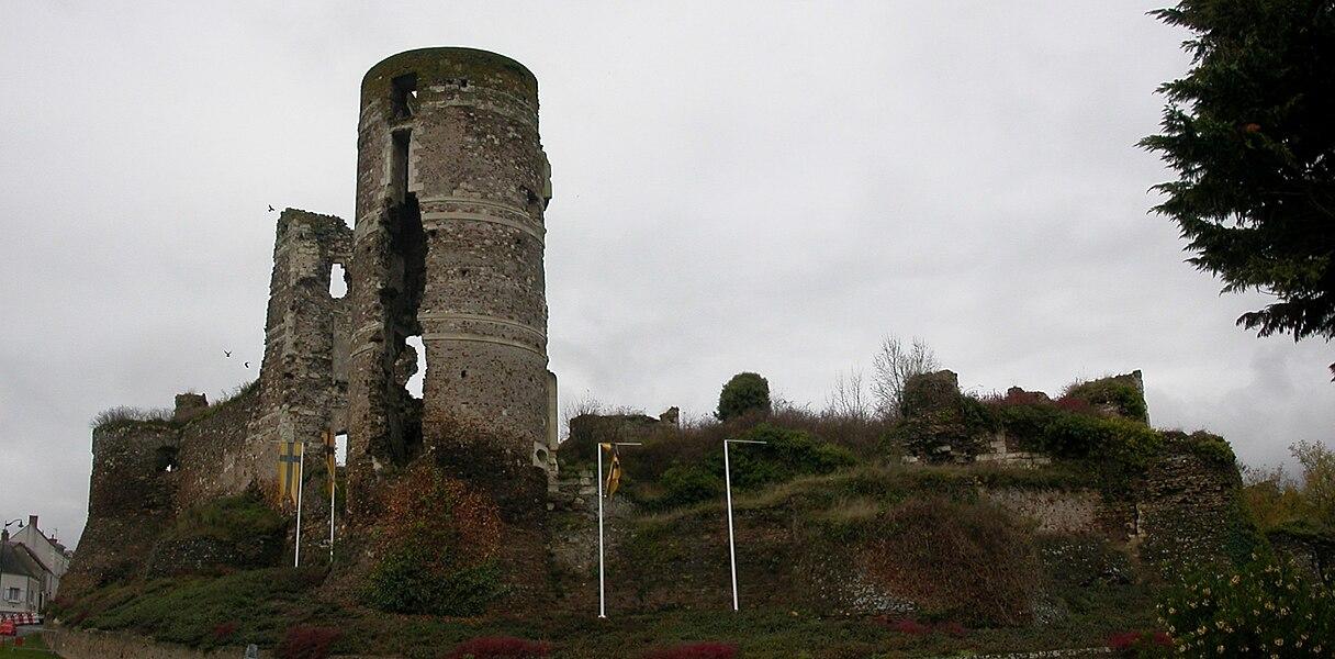Gilles de Rais castle in Champtocé-sur-Loire