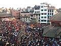 Chariot procession, Indra Jatra, Kathmandu Durbar Square.jpg