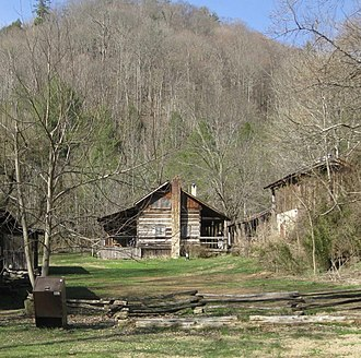 Big South Fork National River and Recreation Area - Image: Charit Creek Lodge