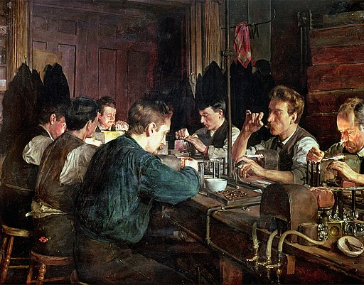 Charles Frederick Ulrich - The Glass Blowers (1883)