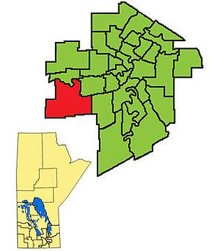 Charleswood (electoral district) - Image: Charleswood ED2011
