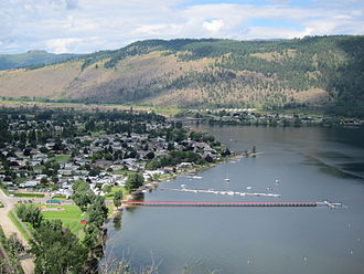 Chase, British Columbia - Chase and Little Shuswap Lake